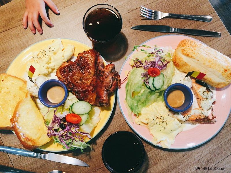 ▌台中親子餐廳 ▌如菓美式潮流餐飲Flambagel Cafe (1)