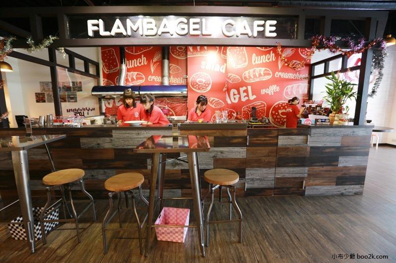 ▌台中親子餐廳 ▌如菓美式潮流餐飲Flambagel Cafe (15)