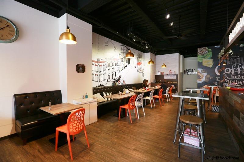 ▌台中親子餐廳 ▌如菓美式潮流餐飲Flambagel Cafe (18)