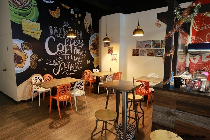 ▌台中親子餐廳 ▌如菓美式潮流餐飲Flambagel Cafe (6)