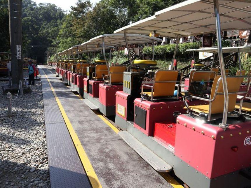 勝興車站鐵道自行車