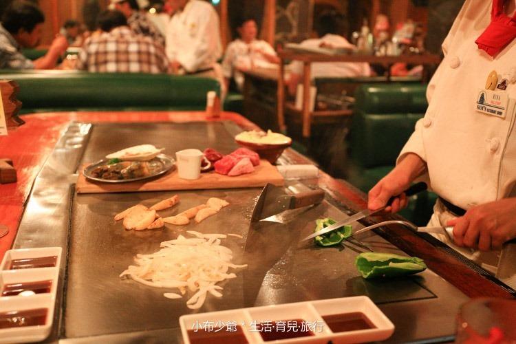 沖繩國際通 美食 SAMS鐵板燒-15