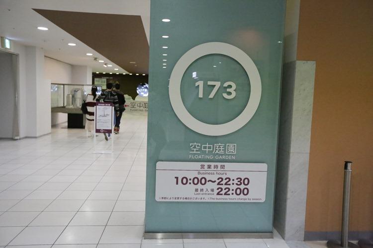 大阪周遊卡梅田 空中庭園展望台 (9 - 36)