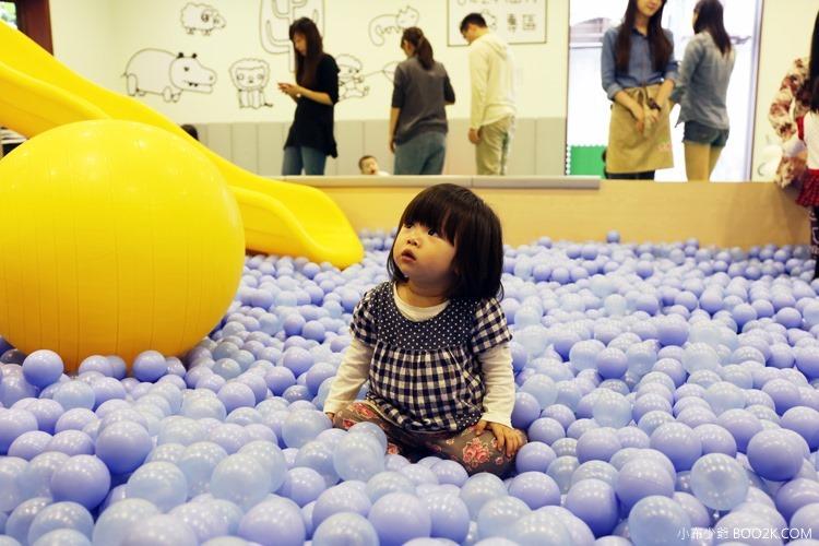 [台北親子餐廳]大樹先生的家親子空間,超大球池IMG_0027