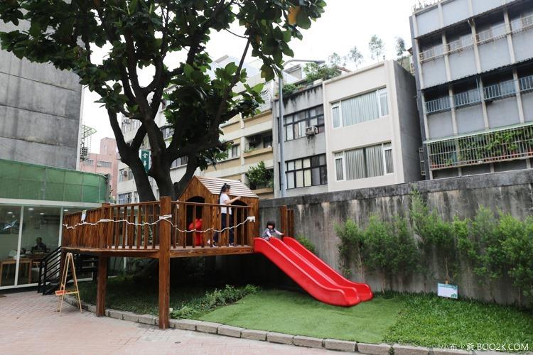 [台北親子餐廳]大樹先生的家親子空間,超大球池IMG_0047