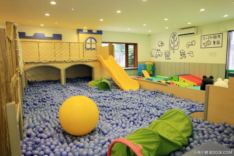 [台北親子餐廳]大樹先生的家親子空間,超大球池IMG_9945