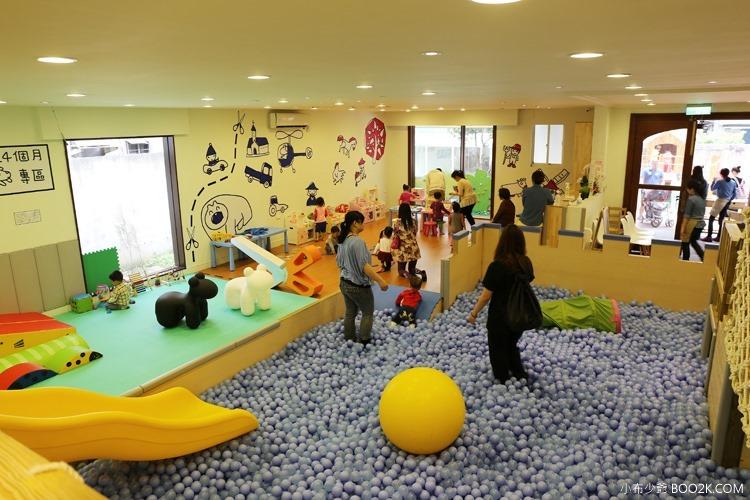 [台北親子餐廳]大樹先生的家親子空間,超大球池IMG_9966