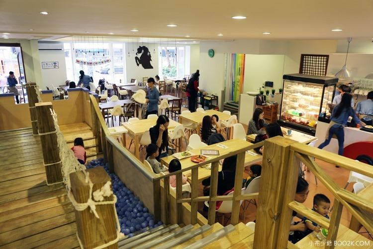 [台北親子餐廳]大樹先生的家親子空間,超大球池IMG_9988