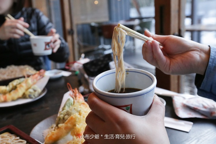 輕井澤川上庵蕎麥麵-27