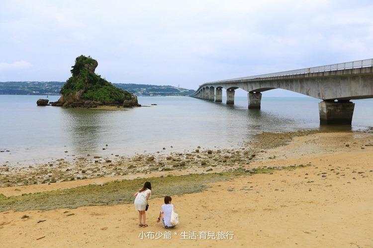 日本 沖繩 古利宇大橋 無料美景 沙灘玩水去-58