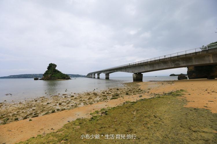 日本 沖繩 古利宇大橋 無料美景 沙灘玩水去-60