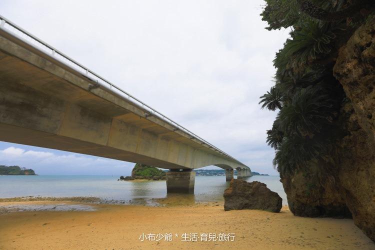 日本 沖繩 古利宇大橋 無料美景 沙灘玩水去-64