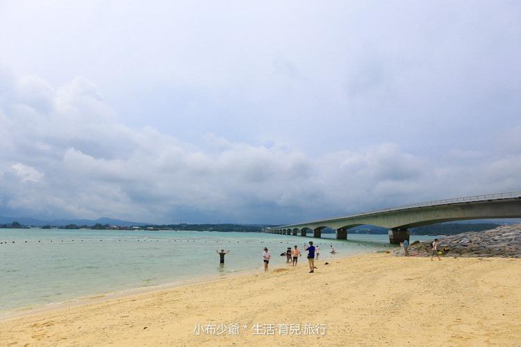 日本 沖繩 古利宇大橋 無料美景 沙灘玩水去-71