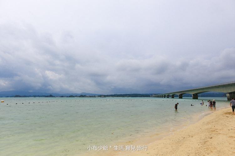 日本 沖繩 古利宇大橋 無料美景 沙灘玩水去-72