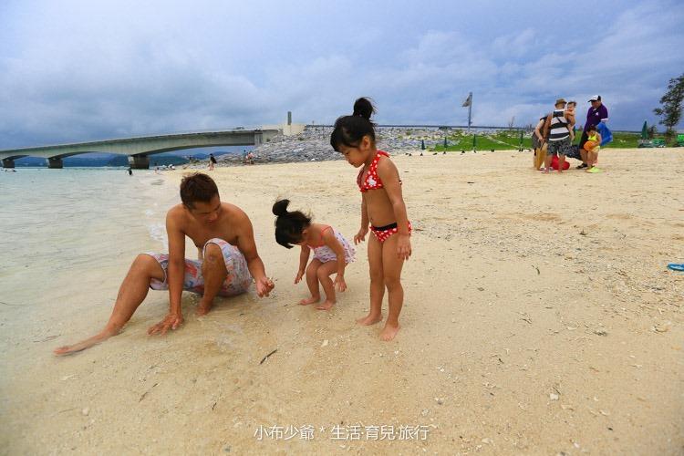 日本 沖繩 古利宇大橋 無料美景 沙灘玩水去-75