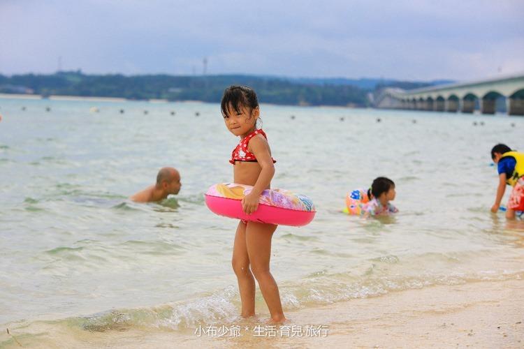 日本 沖繩 古利宇大橋 無料美景 沙灘玩水去-86
