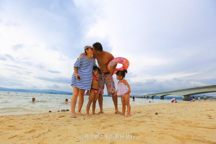 日本 沖繩 古利宇大橋 無料美景 沙灘玩水去-87