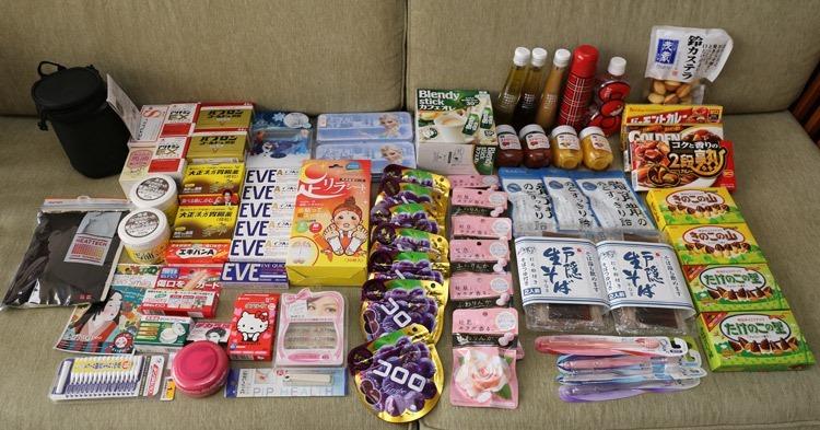 ▌2015日本藥妝購物、必買零食清單 ▌東京、輕井澤9日滑雪之旅買什麼?!