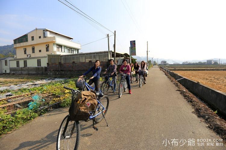 公館黃金小鎮騎芋記:DIY注連繩、單車漫遊、拔蘿蔔