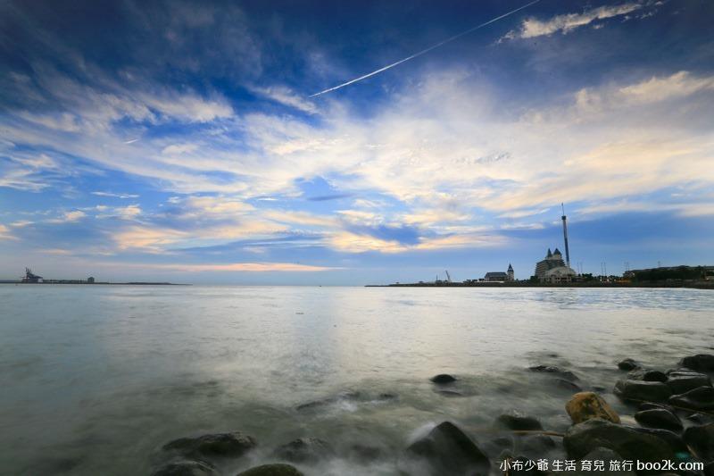 淡水油車口 漁人碼頭 落日攝影-7819