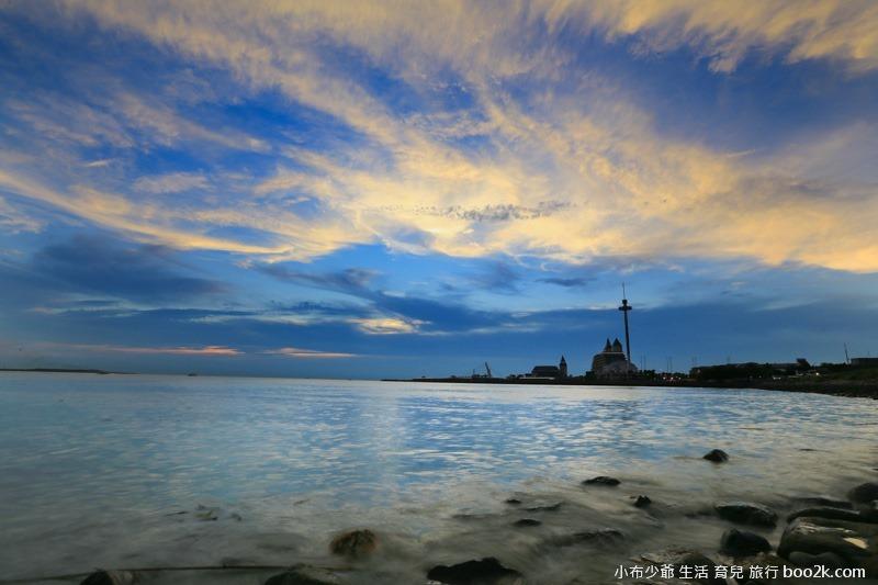淡水油車口 漁人碼頭 落日攝影-7858