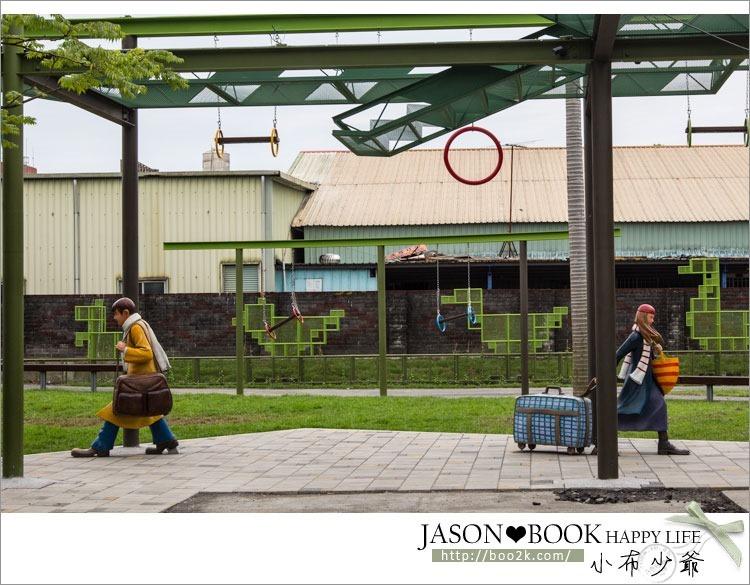 [宜蘭]幾米廣場~走進幾米的繪本世界,宜蘭火車站的新景點