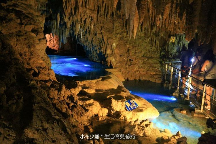 日本 沖繩 南部 玉泉洞鐘乳石洞裡的和嘆咖啡-17