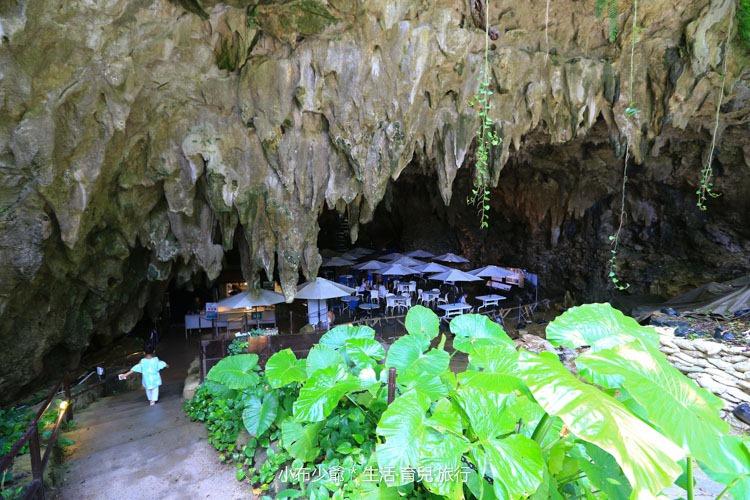 日本 沖繩 南部 玉泉洞鐘乳石洞裡的和嘆咖啡-43
