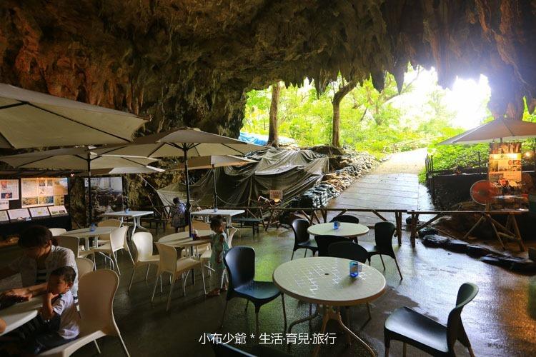 日本 沖繩 南部 玉泉洞鐘乳石洞裡的和嘆咖啡-48