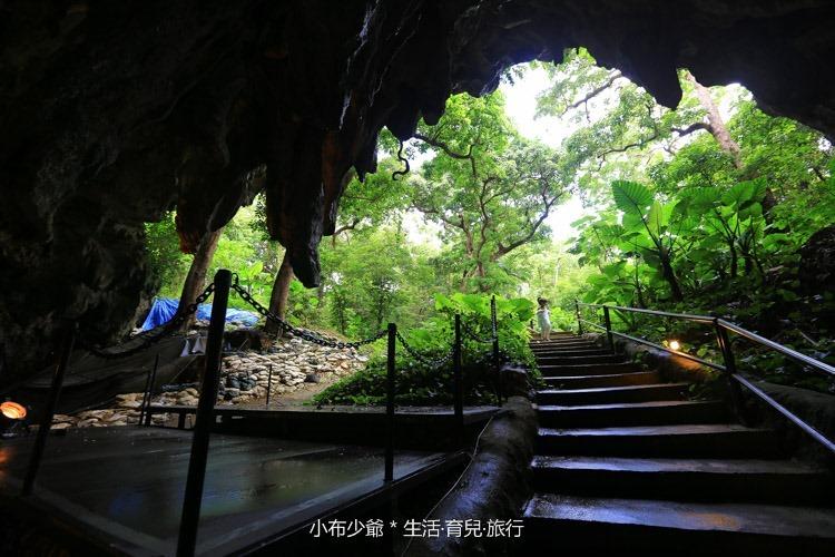 日本 沖繩 南部 玉泉洞鐘乳石洞裡的和嘆咖啡-59