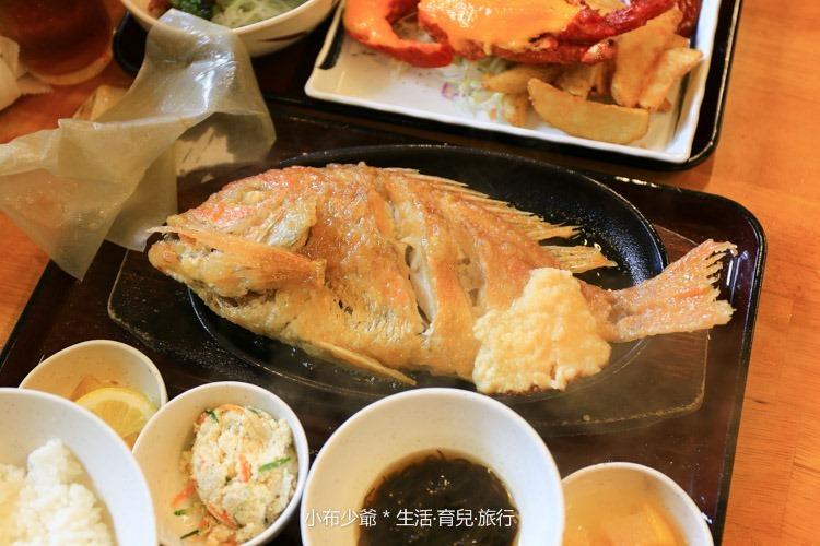 日本 沖繩 浜之家 和食料理 龍蝦生魚片 -13