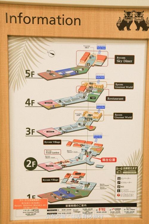 沖繩 AEON 必逛商城 親子旅行-11