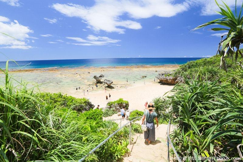 2016沖繩愛心礁石 潮間帶-3202