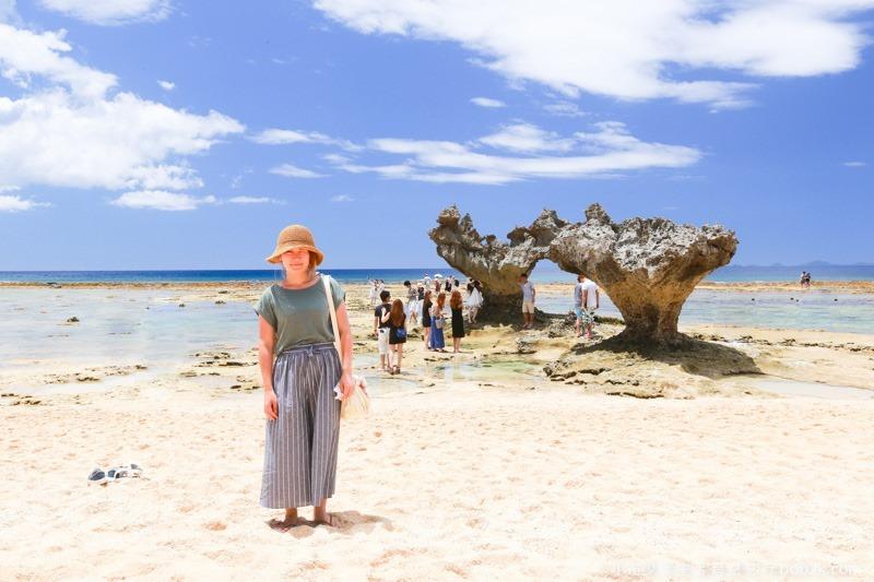 2016沖繩愛心礁石 潮間帶-3207