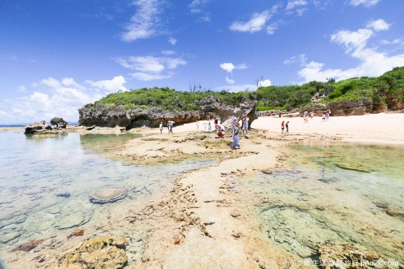 2016沖繩愛心礁石 潮間帶-3250