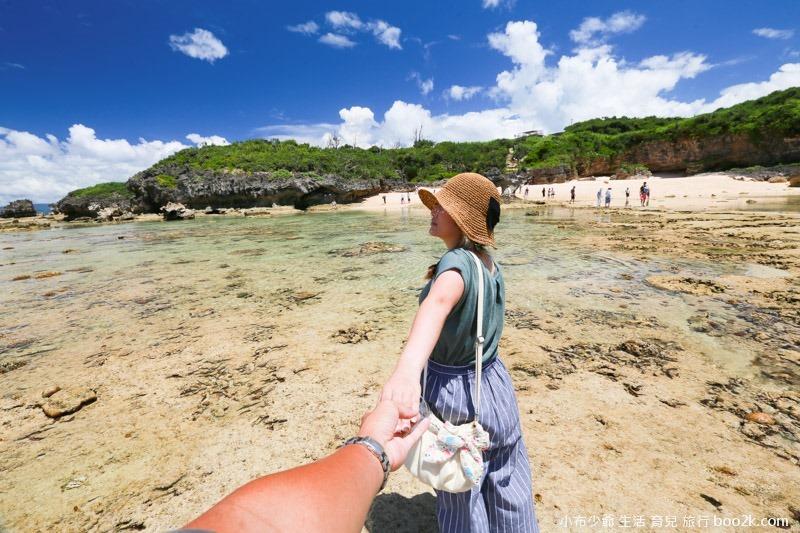 2016沖繩愛心礁石 潮間帶-3259