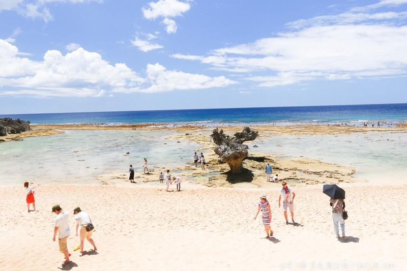 2016沖繩愛心礁石 潮間帶-3281